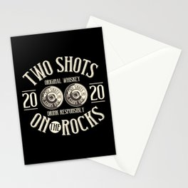 Two Shots Stationery Cards