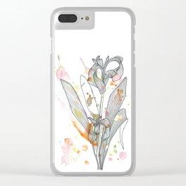 Flowe n°5 Clear iPhone Case