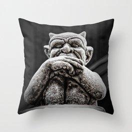 A Little Uneasy Throw Pillow