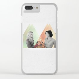 swan queen: first look Clear iPhone Case