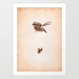 The Bird and the Bee Art Print