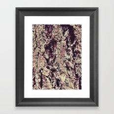 Tree Bark 2.0 Framed Art Print