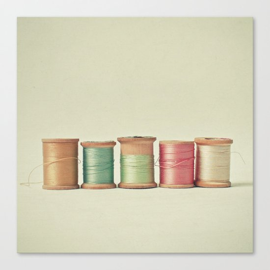 Five in a Row Canvas Print