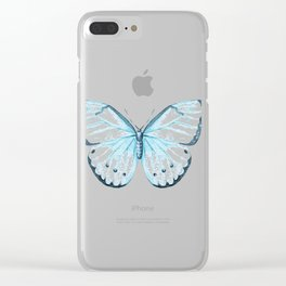 Butterfly 18 Clear iPhone Case