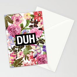 DUH Stationery Cards