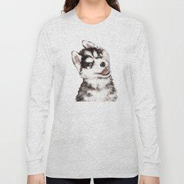 Baby Husky Long Sleeve T-shirt