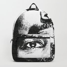 Denzel Hayes Washington Jr. - Society6 Online Movie Star - Actor - Hello World Backpack