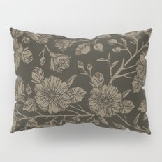 Midnight Blooms Pillow Sham