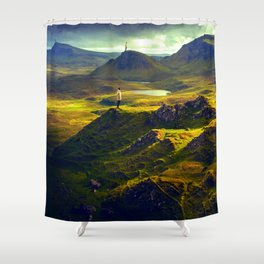 The Mountain Men at Isle Of Skye Shower Curtain