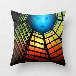 Show me a wonderful world Throw Pillow
