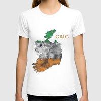 ruben ireland T-shirts featuring Eire / Ireland by Dandy Octopus