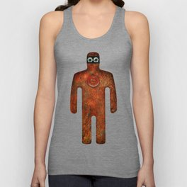 Rust Man - Steampunk Super Hero Unisex Tank Top