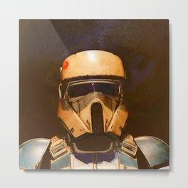 Scarif Troopers Metal Print