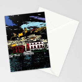 Ibiza Town Stationery Cards