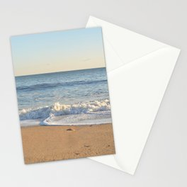 Wave Crashing on Beach in East Hampton Stationery Cards