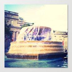 Fountain of Trafalgar Canvas Print