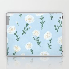 White Roses Laptop & iPad Skin