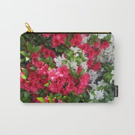 Pink & white Rhododendrons Carry-All Pouch
