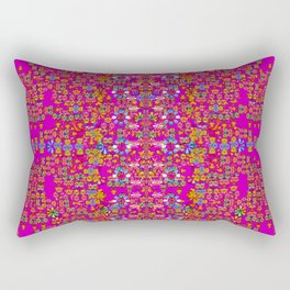lianas of excotic in florals decorative tropical paradise style Rectangular Pillow