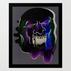 Face Illustration 6 Art Print