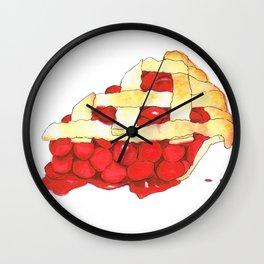 Cheer-y Pie Wall Clock