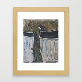 Papir Framed Art Print