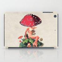 eugenia loli iPad Cases featuring Shroom Girl by Eugenia Loli
