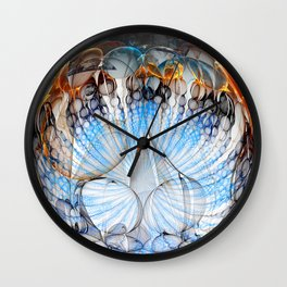 Colored Sphere Wall Clock