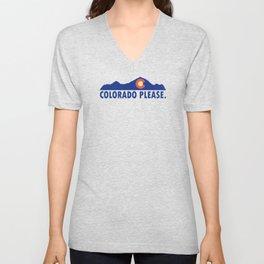 Colorado Please Unisex V-Neck