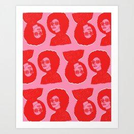 Kara Pattern Art Print