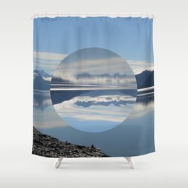 Turnagain Arm Flip Flop Shower Curtain