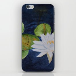 Muskoka Lilypad Flower iPhone Skin