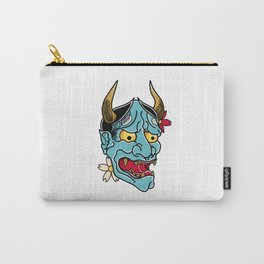 Hannya Mask Carry-All Pouch
