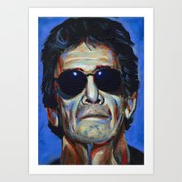 lou reed Art Prints featuring Lou Reed by Buffalo Bonker