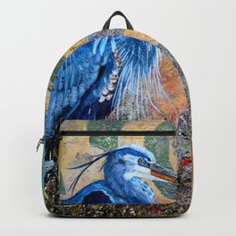 The Blue & Gold Backpack