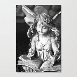 Fairie Scribe Canvas Print