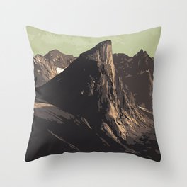 Auyuittuq National Park Throw Pillow