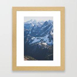 Ridges Framed Art Print