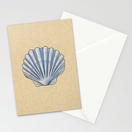 Clam (Scallop) - Inktober 2019 #16 Stationery Cards