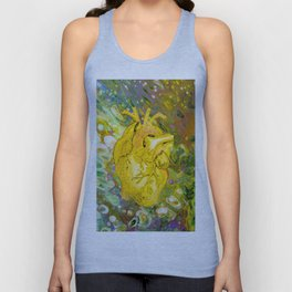 Jaundice Heart Unisex Tank Top
