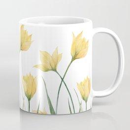 Yellow Woodland Tulips Coffee Mug