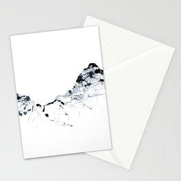 MOUNT MYTHEN MOUNTAINSPLASH grey Stationery Cards