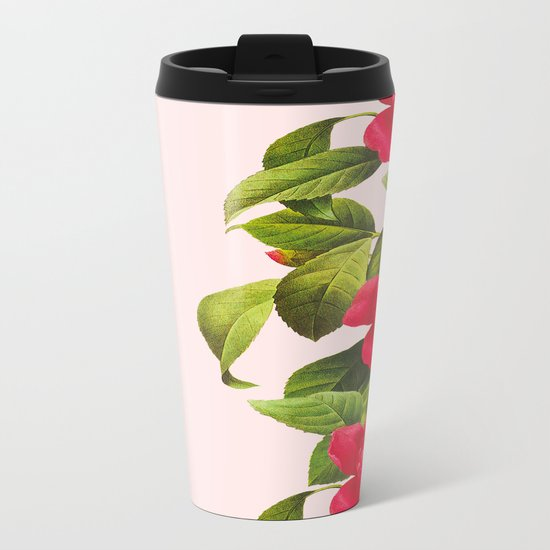 Botanical Light Kiss Metal Travel Mug