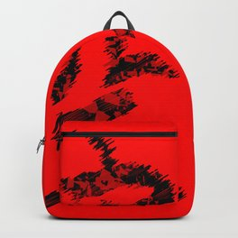 Karate Text Backpack