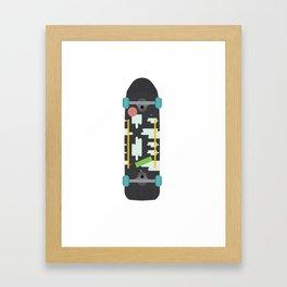Skateboard Framed Art Print