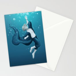 Deep Sea Boy Stationery Cards