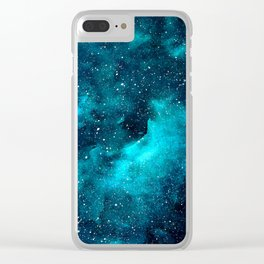 Galaxy no. 2 Clear iPhone Case