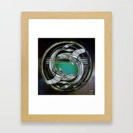 """Astrological Mechanism - Pisces"" Framed Art Print"