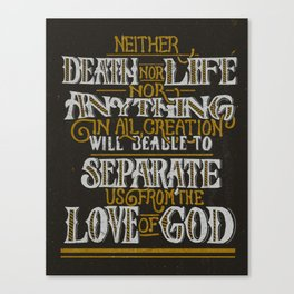 The Love of God Canvas Print