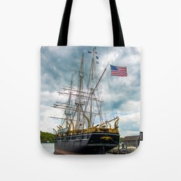 The Last Ship Tote Bag